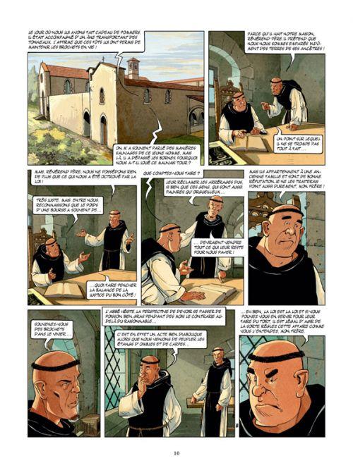 Sir Nigel T1 : Le Preu du pont de Tilford (0), bd chez Glénat de Seiter, Gine