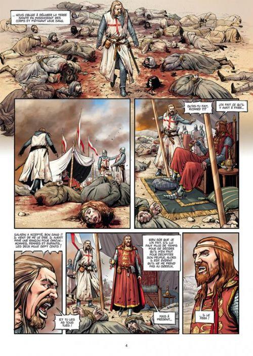 La Croix sanglante T1 : Guerre sainte (0), bd chez Delcourt de Stojanovic, Catalin, Kovacevic, Desko