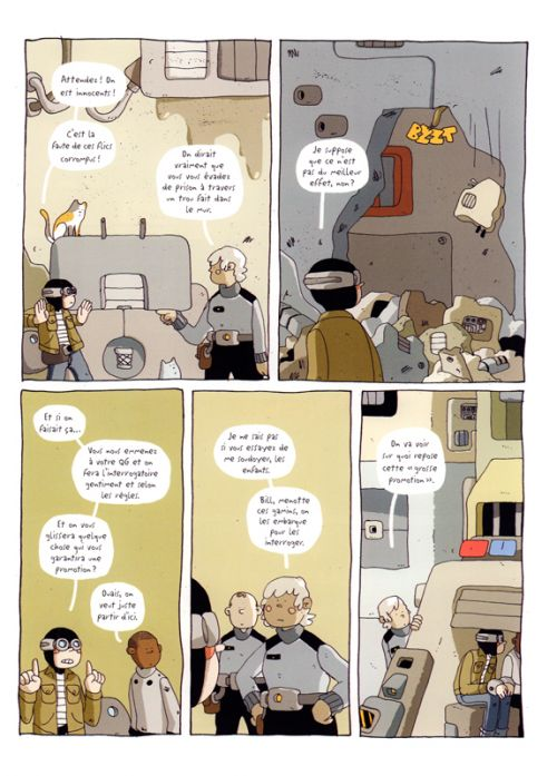 Volcano Trash & Night Air, comics chez Kinaye de Sears