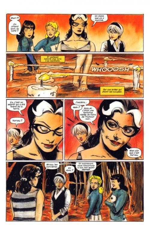 Sabrina, comics chez Glénat de Aguirre-Sacasa, Hack