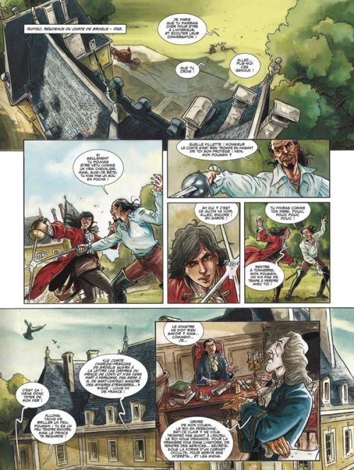 Le Chevalier d'Eon (Mogavino) T1 : La fin de l'innocence (0), bd chez Glénat de Mogavino, Delalande, Lapo, SiMo