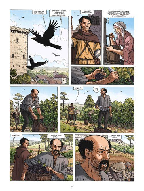 Vinifera T5 : Le vin des papes (0), bd chez Glénat de Corbeyran, Goepfert, Minte