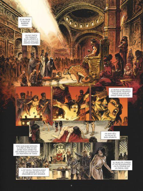 Conan le Cimmérien T6 : Chimères de fer dans la clarté lunaire (0), bd chez Glénat de Augustin
