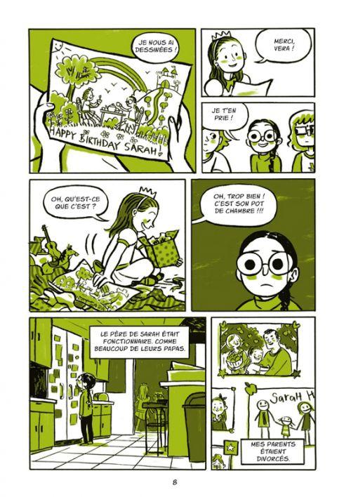 Un Ete d'enfer, comics chez Rue de Sèvres de Brosgol
