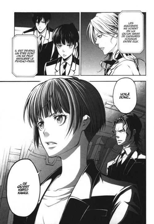 Psycho-pass Saison 2 T4, manga chez Kana de Hashino