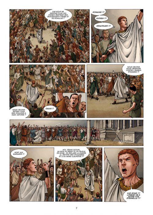 Troisième Fils de Rome T5 : Marc Antoine et Cléopâtre (0), bd chez Soleil de Moënard, Fonteriz, Baldo, Facio Garcia