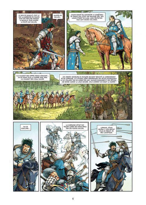 Révolutions - Quand l'Histoire de France a basculé T3 : 1356 (0), bd chez Soleil de Pécau, Clark, Vicente, 1ver2anes