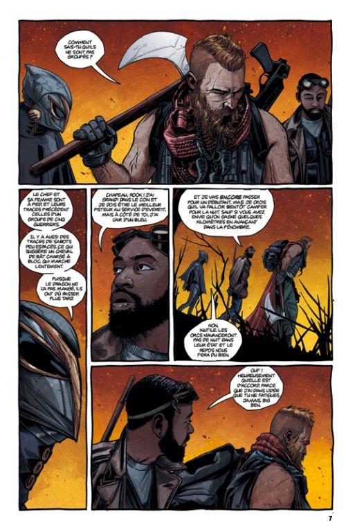 The Realm T2, comics chez Casterman de Peck, Haun, Filardi