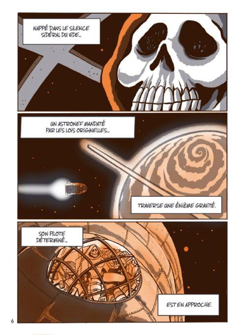 Captain Death, comics chez Casterman de Bacci Leveillé