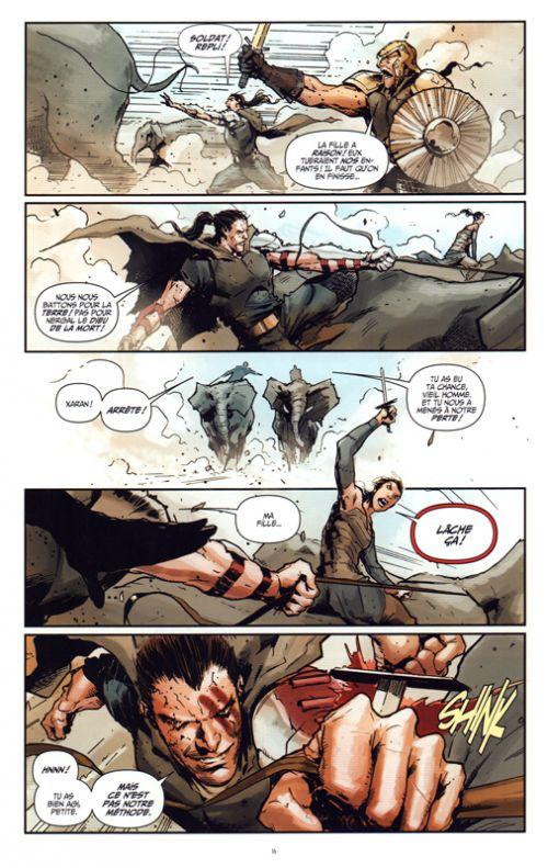 Eternal Warrior : Chroniques du guerrier éternel (0), comics chez Bliss Comics de Venditti, Milligan, Pak, Guedes, Nord, Hairsine, Gill, Crain, Bernard, Major, Arreola, Reber, Rauch