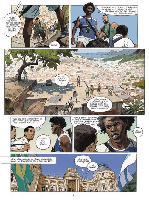 Rio T4 : Chacun pour soi (0), bd chez Glénat de Garcia, Rouge