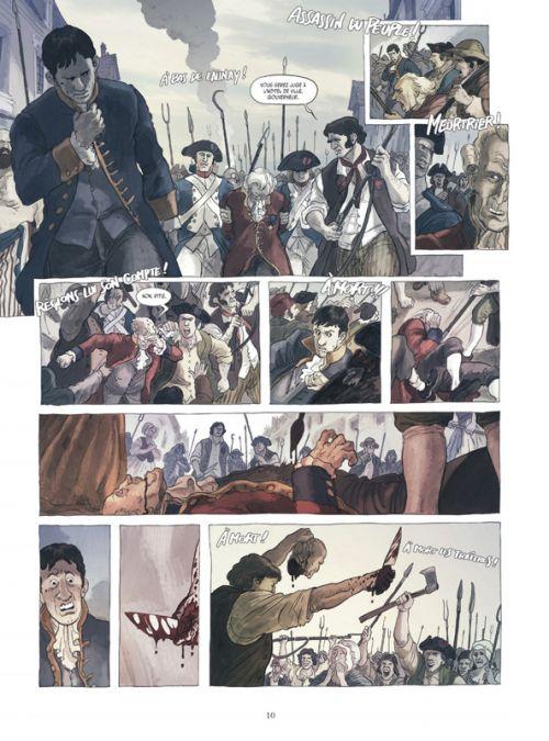 1789 T1 : La mort d'un monde (0), bd chez Glénat de Simsolo, Martinello, Grillotti, Bizzarri, Bulgheroni