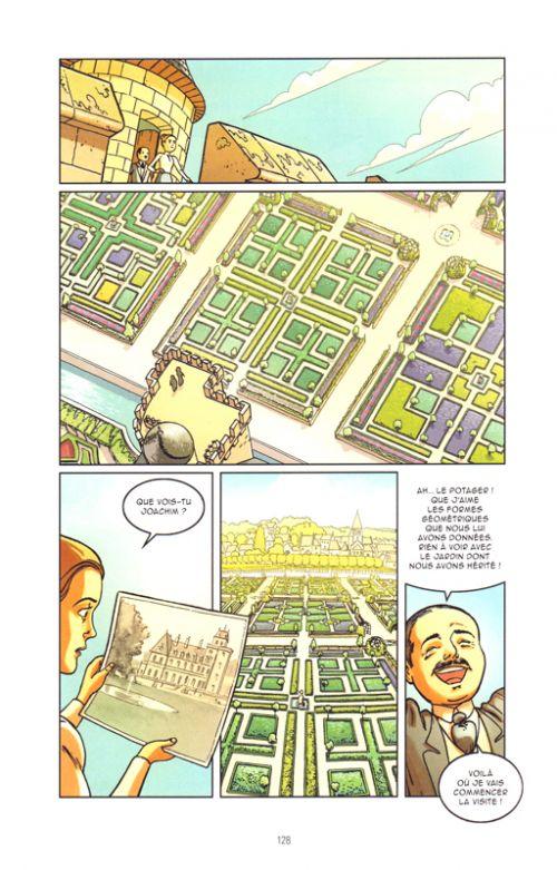 Guide des châteaux de la Loire en bandes dessinées, bd chez Petit à petit de Collectif