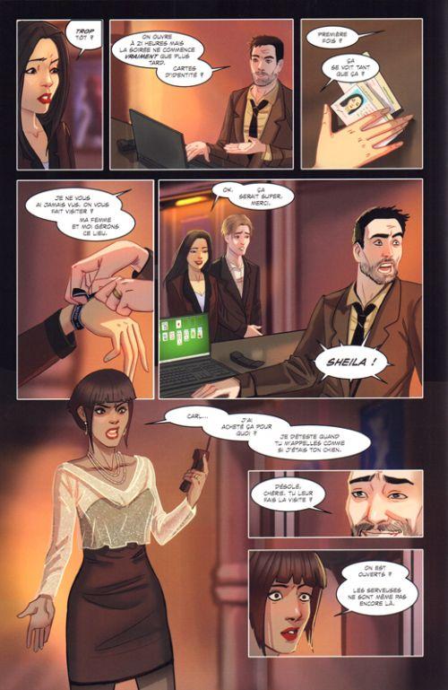 Swing T1, comics chez Panini Comics de Hawkins, Cheung, Sejic