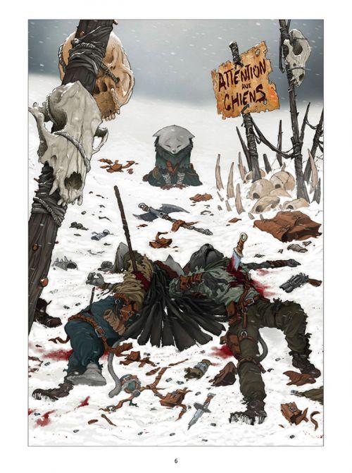 Solo - Chemins tracés T1 : Fortuna (0), comics chez Delcourt de Martin, Iglesias