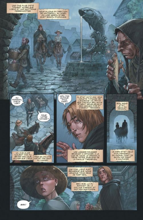 Le Chevalier errant, comics chez Dargaud de Martin, Avery, Miller, Nanjan, Mohan