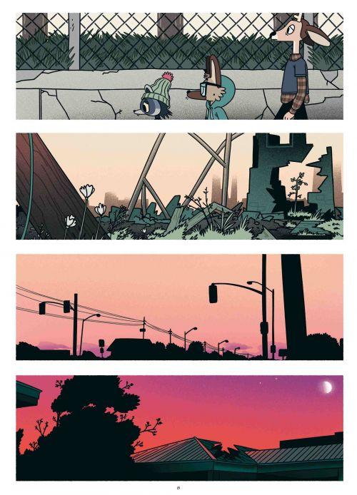 Garbage Night, comics chez Kinaye de Lee