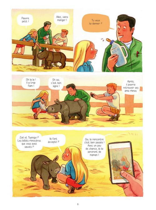 Willa et la passion des animaux T1 : Retour aux sources (0), bd chez Jungle de Modéré