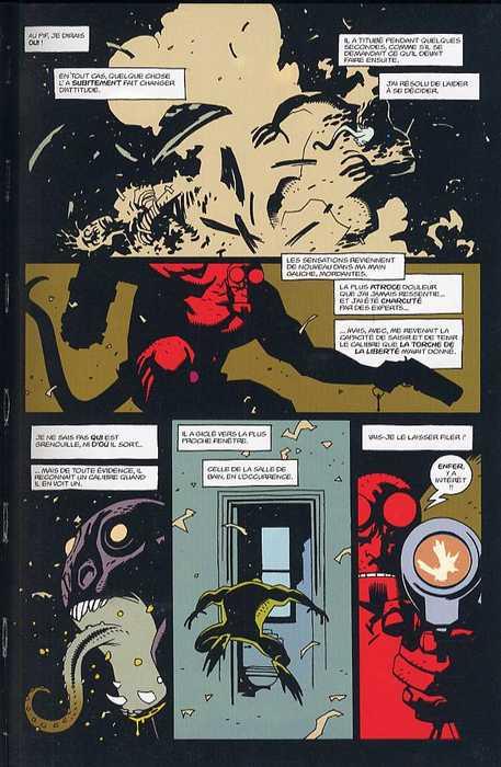 Hellboy T1 : Les germes de la destruction (0), comics chez Delcourt de Mignola, Byrne, Chiarello