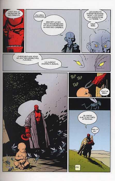 Hellboy T3 : Le cercueil enchaîné (0), comics chez Delcourt de Mignola, Hollingsworth, Sinclair, Stewart