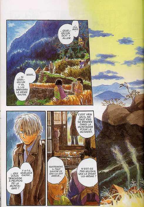 Mushishi T2, manga chez Kana de Urushibara