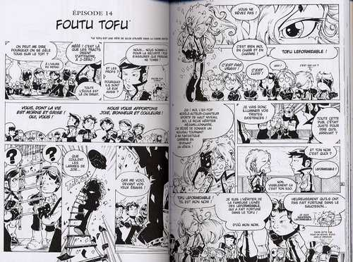 Sentaï School T2, manga chez Kami de Cardona, Torta