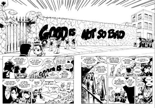 Sentaï School T4, manga chez Kami de Cardona, Torta