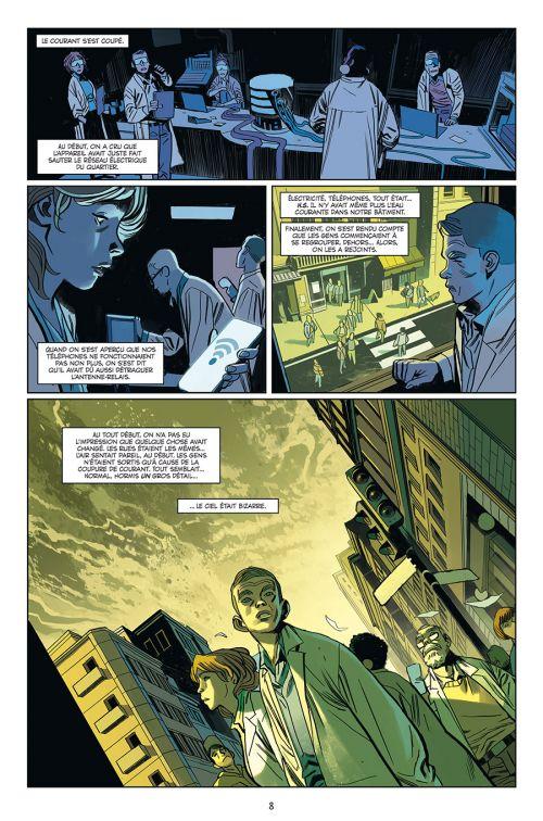 Oblivion Song T2, comics chez Delcourt de Kirkman, De Felici, Léoni