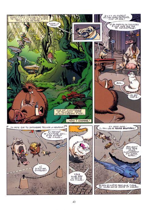 Les Cinq sans maîtres : Les cinq sans maîtres - Tome 1 (0), bd chez Bamboo de Karinka, Cazenove, Jytéry, Amouriq, Mirabelle