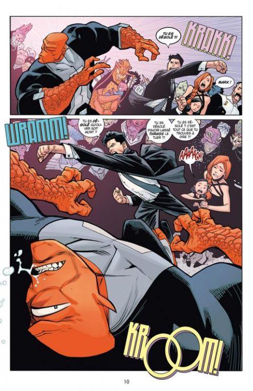 Invincible T24 : La fin de tout (1ere partie) (0), comics chez Delcourt de Kirkman, Vines, Ottley, Morales, Walker, Fairbairn