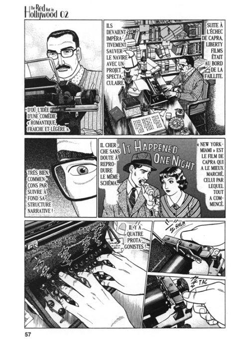 The red rat in Hollywood T2, manga chez Vega de Yamamoto