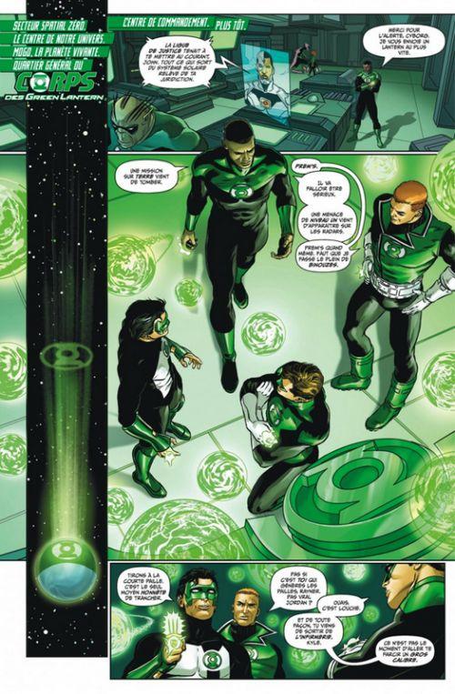 Green Lantern Rebirth T5 : Au crépuscule des gardiens (0), comics chez Urban Comics de Venditti, Van sciver, Luis, Zircher, Sandoval, Peterson, Herbert, Morey, Wright