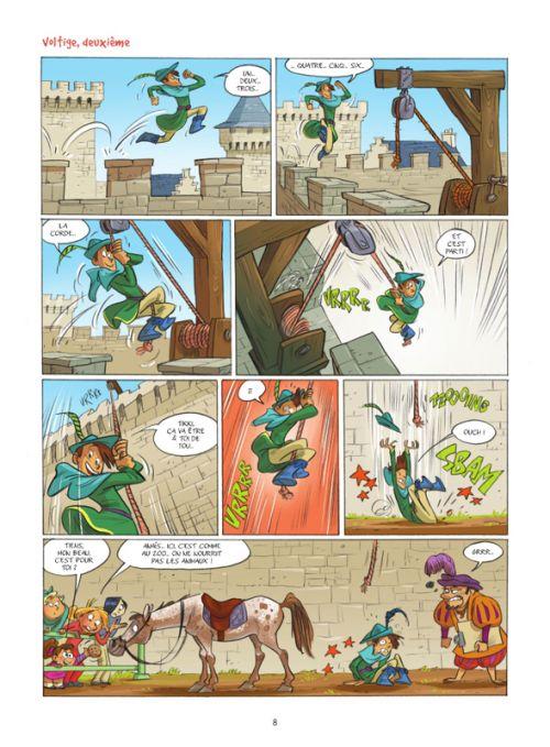 Camomille et les chevaux T7 : Que du vent ! (0), bd chez Bamboo de Lili Mésange, Turconi, Lenoble