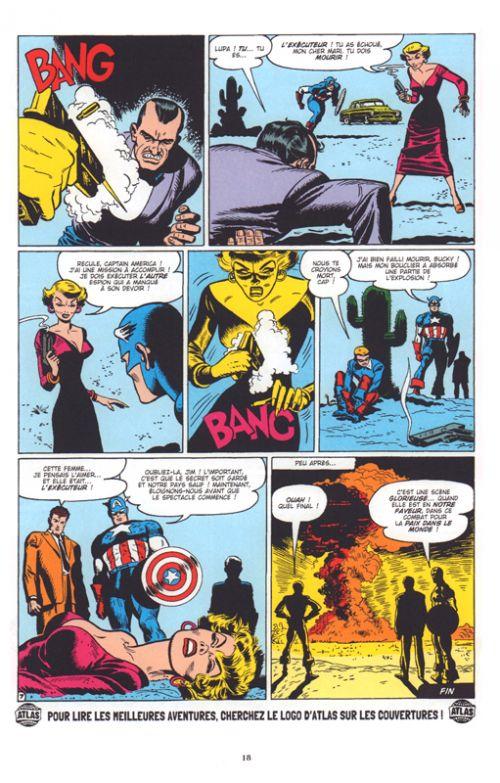 Décennies : Marvel dans les années 50 : Captain America : la légende  (0), comics chez Panini Comics de Chaykin, Abel, Benulis, Romita Sr, Lawrence, Delgado