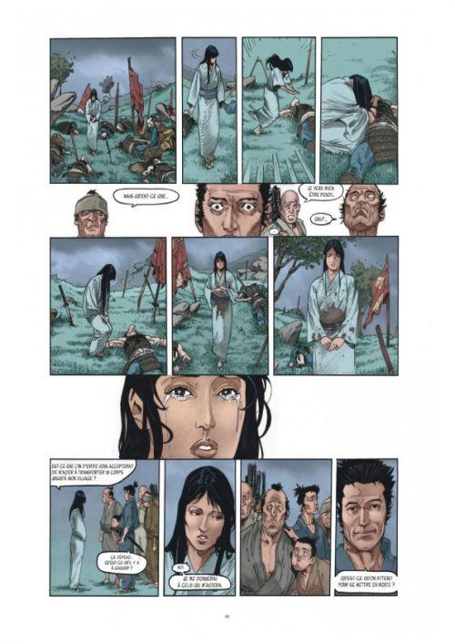 Le Masque aux mille larmes T1 : La mort marche avec moi (0), bd chez Dargaud de Chauvel, Ali