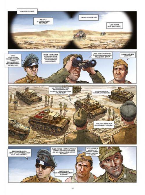 Afrikakorps T1 : Battleaxe (0), bd chez Paquet de Speltens