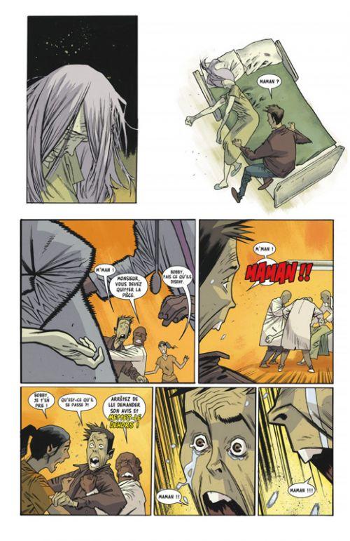 Rumble T3 : Chair immortelle (0), comics chez Glénat de Arcudi, Harren, Stewart