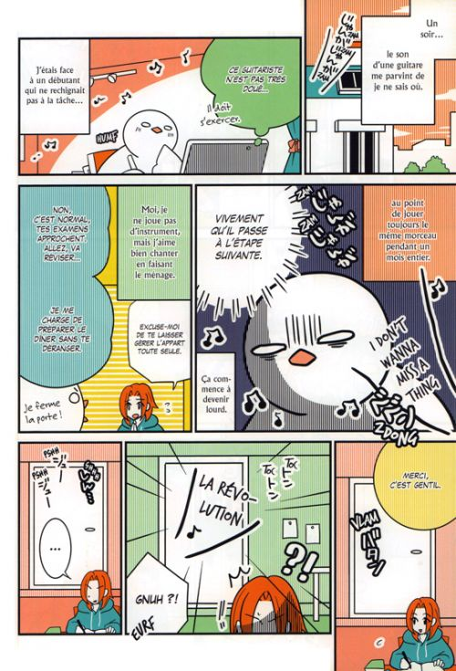 Un pigeon à Paris T3, manga chez Glénat de Foujita