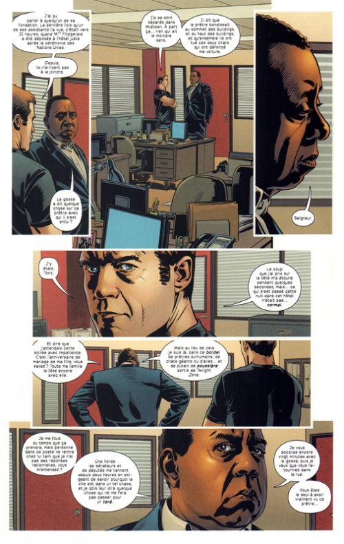 Créatures sacrées T2, comics chez Delcourt de Janson, Raimondi, White, Reber, Chuckry, Hi-fi colour, Wilson, Coipel