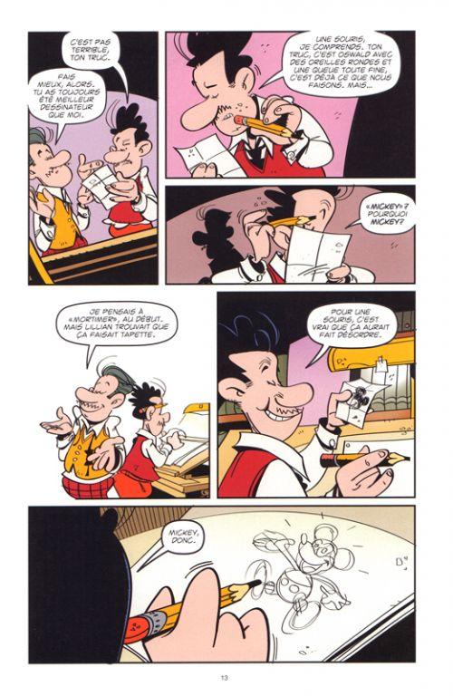 Deux frères à Hollywood : La formidable histoire de Walt et Roy Disney (0), bd chez 21g de Nikolavitch, Ruiz