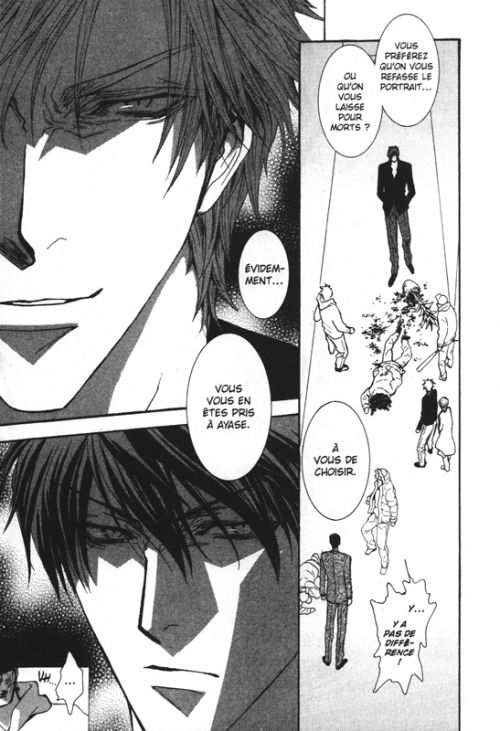 No money T14, manga chez Asuka de Kousaka, Shinozaki