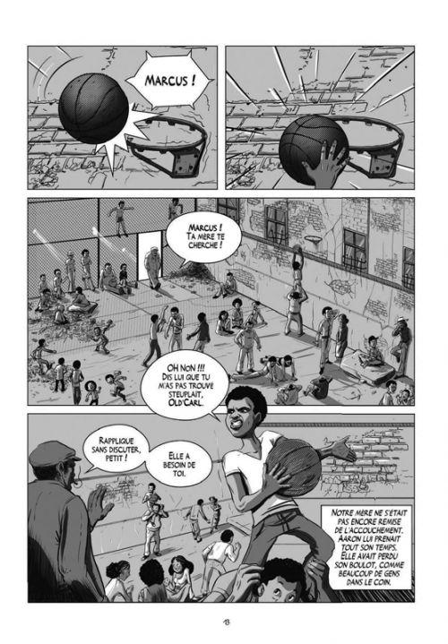 Break : Une histoire du hip-hop (0), bd chez Steinkis de Ledoux, Liano