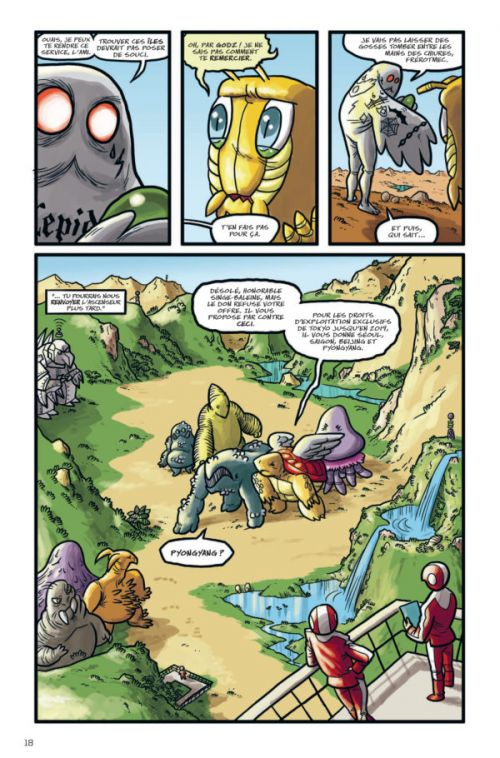 Kaijumax, comics chez Bliss Comics de Cannon, Fischer