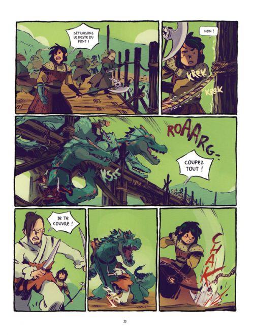 Le Sceau du dragon T1 : Ari, le chasseur (0), bd chez Les aventuriers de l'Etrange de Gutierez, Vicente