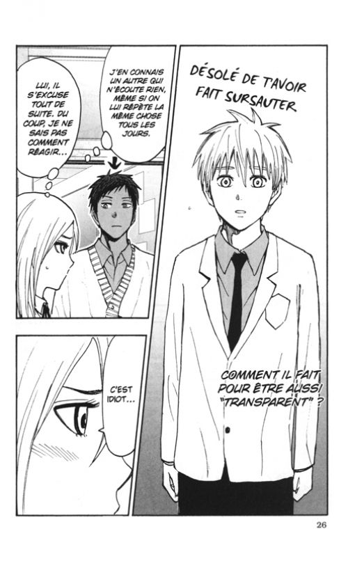 Kuroko's basket Replace PLUS T10, manga chez Kazé manga de Hirabayashi,  Fujimaki, Takahashi