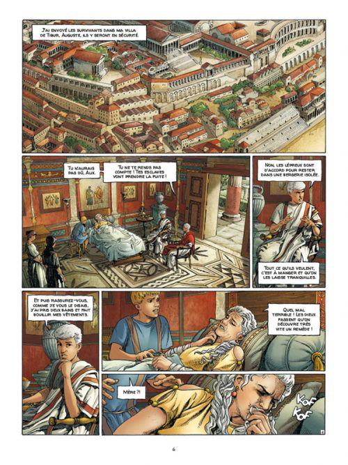 Alix senator T9 : Les Spectres de Rome (0), bd chez Casterman de Mangin, Demarez, Chagnaud