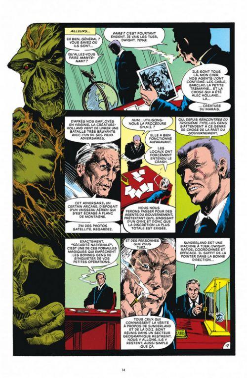 Alan Moore présente Swamp Thing T1, comics chez Urban Comics de Moore, Wein, Randall, Day, Wrightson, Bissette, McManus, Veitch, Wood