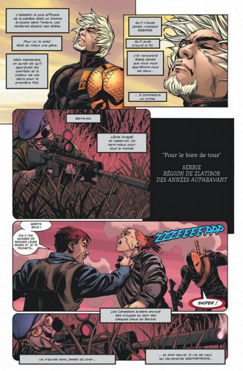 Deathstroke Rebirth T4 : Défiance (0), comics chez Urban Comics de Priest, Neves, Pagulayan, Cox, Sook