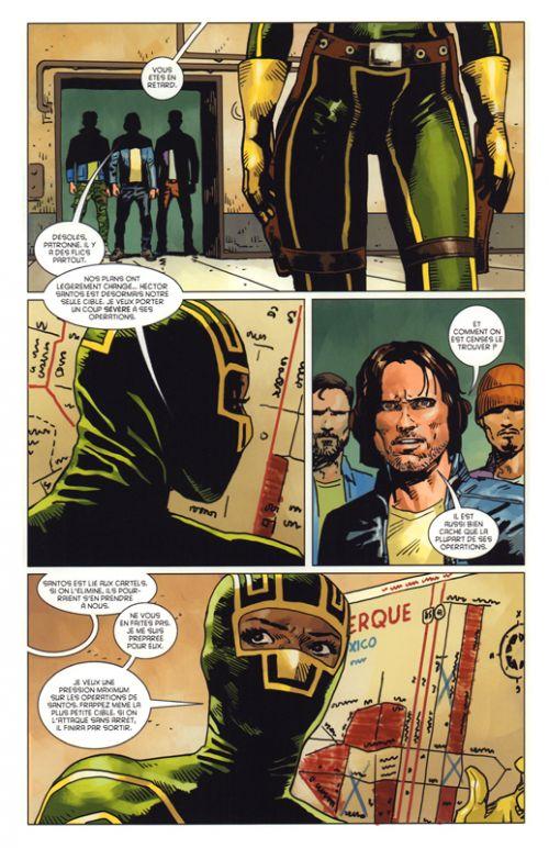 Kick Ass The new girl  T2, comics chez Panini Comics de Niles, Frusin, Gho
