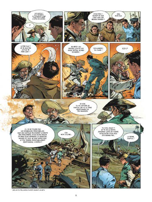 La Honte et l'oubli T2 : Génocide (0), bd chez Glénat de Harriet, Andres, Aguirre